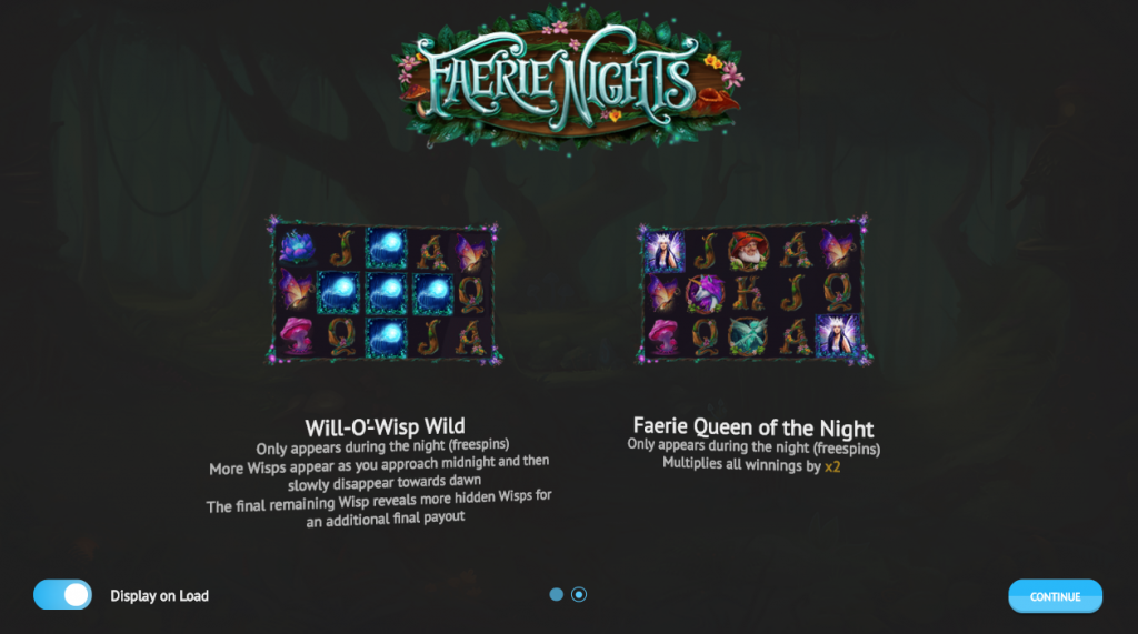 Faerie Nights scatter